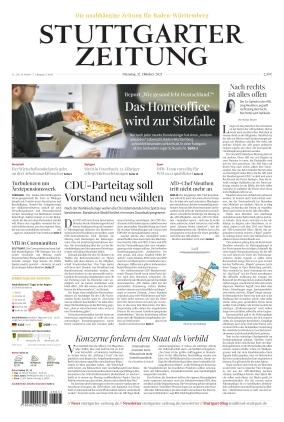 Stuttgarter Zeitung (12.10.2021)