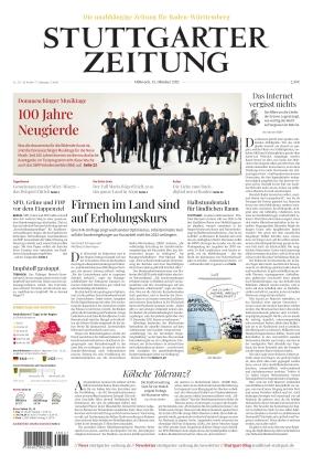 Stuttgarter Zeitung (13.10.2021)