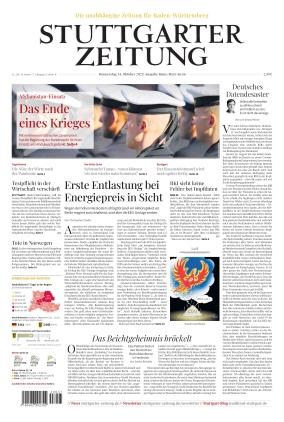 Stuttgarter Zeitung - Rems-Murr-Kreis (14.10.2021)