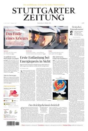 Stuttgarter Zeitung (14.10.2021)