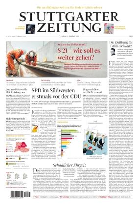 Stuttgarter Zeitung (15.10.2021)