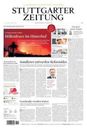 Stuttgarter Zeitung (16.10.2021)