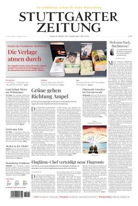 Stuttgarter Zeitung - Rems-Murr-Kreis (18.10.2021)
