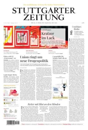Stuttgarter Zeitung - Rems-Murr-Kreis (20.10.2021)