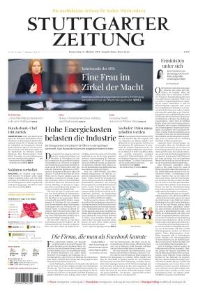 Stuttgarter Zeitung - Rems-Murr-Kreis (21.10.2021)