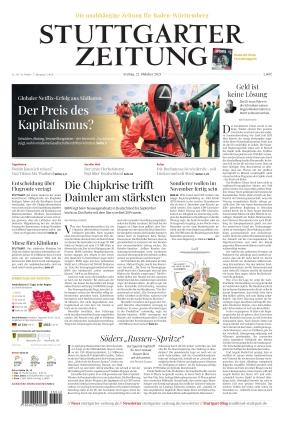 Stuttgarter Zeitung (22.10.2021)