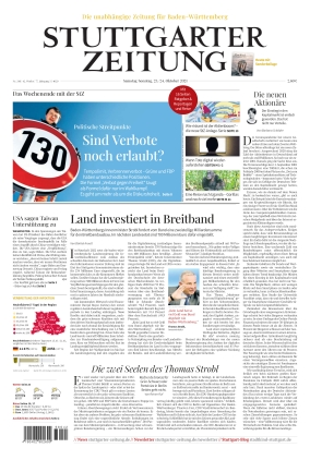 Stuttgarter Zeitung (23.10.2021)