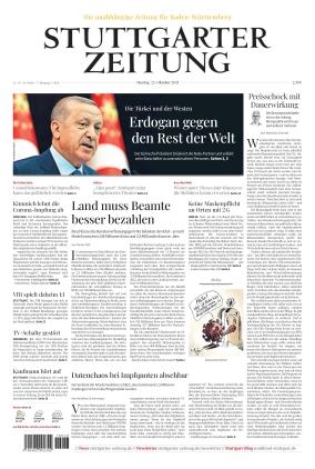 Stuttgarter Zeitung (25.10.2021)