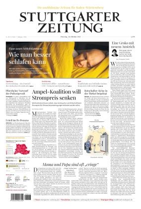 Stuttgarter Zeitung (26.10.2021)