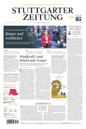 Stuttgarter Zeitung (27.10.2021)
