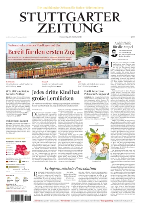 Stuttgarter Zeitung (28.10.2021)