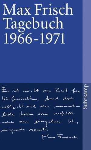 Tagebuch 1966 - 1971