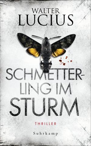 Schmetterling im Sturm