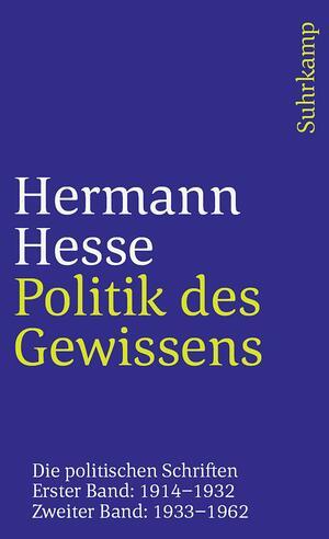 Politik des Gewissens. Zwei Bände