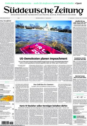 Süddeutsche Zeitung (11.01.2021)