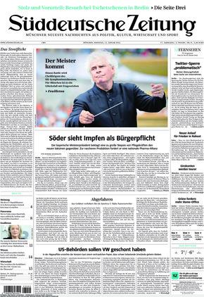 Süddeutsche Zeitung (12.01.2021)