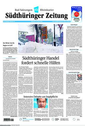 Südthüringer Zeitung (13.01.2021)
