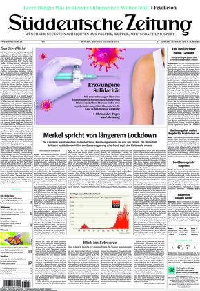 Süddeutsche Zeitung (13.01.2021)