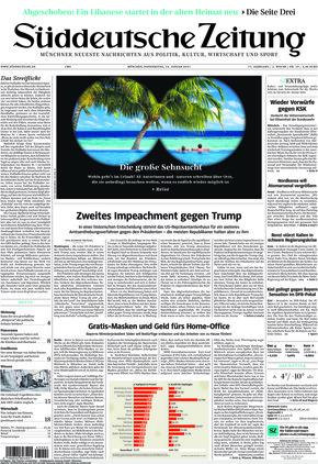 Süddeutsche Zeitung (14.01.2021)
