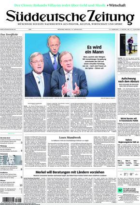 Süddeutsche Zeitung (15.01.2021)