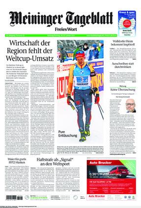 Meininger Tageblatt (16.01.2021)