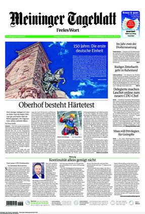 Meininger Tageblatt (18.01.2021)