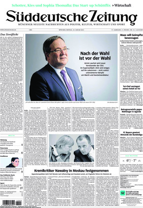 Süddeutsche Zeitung (18.01.2021)