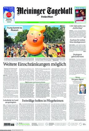 Meininger Tageblatt (19.01.2021)