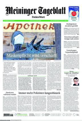 Meininger Tageblatt (20.01.2021)