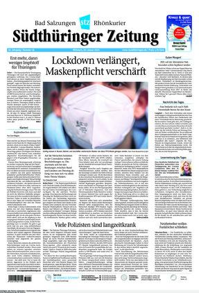 Südthüringer Zeitung (20.01.2021)