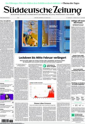 Süddeutsche Zeitung (20.01.2021)