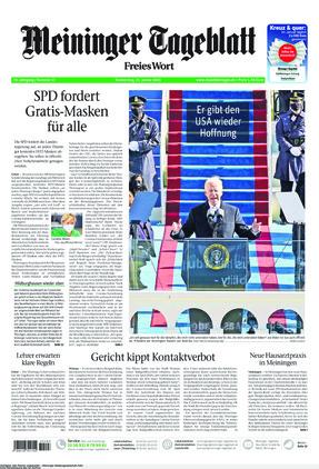 Meininger Tageblatt (21.01.2021)