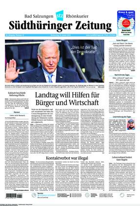 Südthüringer Zeitung (21.01.2021)