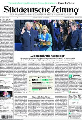 Süddeutsche Zeitung (21.01.2021)