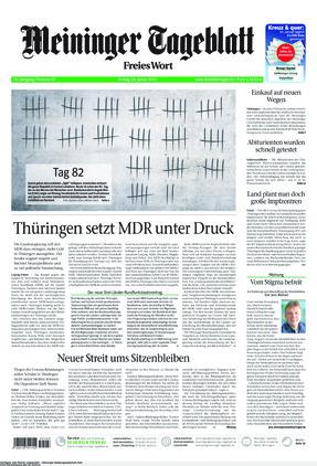 Meininger Tageblatt (22.01.2021)