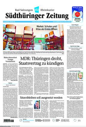 Südthüringer Zeitung (22.01.2021)