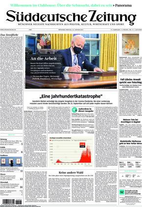 Süddeutsche Zeitung (22.01.2021)