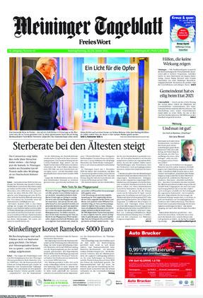Meininger Tageblatt (23.01.2021)