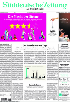 Süddeutsche Zeitung (23.01.2021)