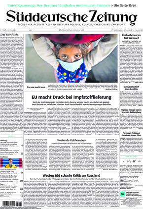 Süddeutsche Zeitung (25.01.2021)