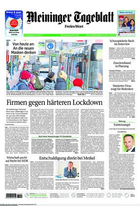 Meininger Tageblatt (26.01.2021)