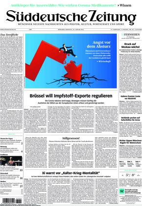 Süddeutsche Zeitung (26.01.2021)