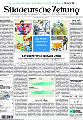 Süddeutsche Zeitung (27.01.2021)