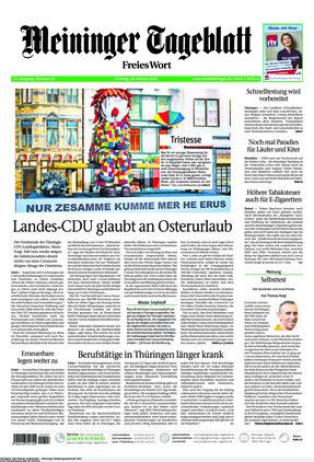 Meininger Tageblatt (16.02.2021)