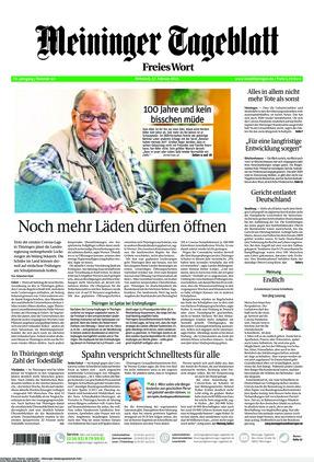 Meininger Tageblatt (17.02.2021)