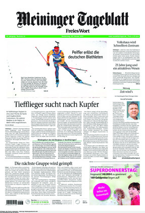 Meininger Tageblatt (18.02.2021)