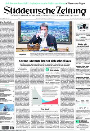 Süddeutsche Zeitung (18.02.2021)