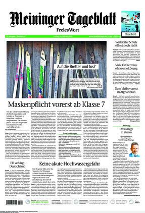Meininger Tageblatt (19.02.2021)