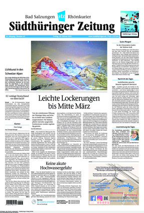 Südthüringer Zeitung (19.02.2021)