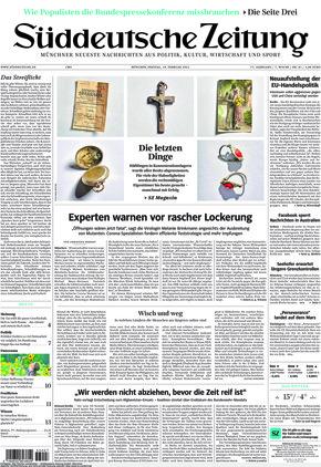 Süddeutsche Zeitung (19.02.2021)